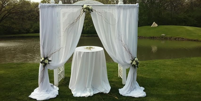 ceremony drape