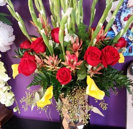 mulit tall arrangement
